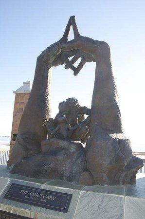 Veterans Memorial Park: Missing Children memorial