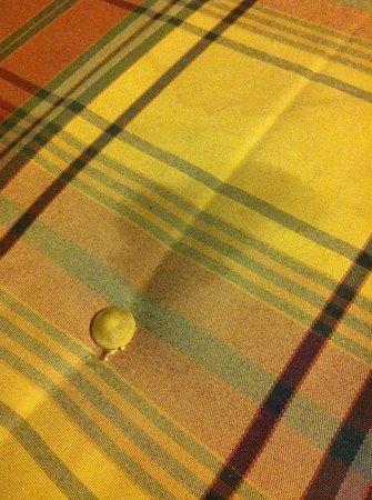 NH Zandvoort: Ranzige vlekken op de bank in de kamer