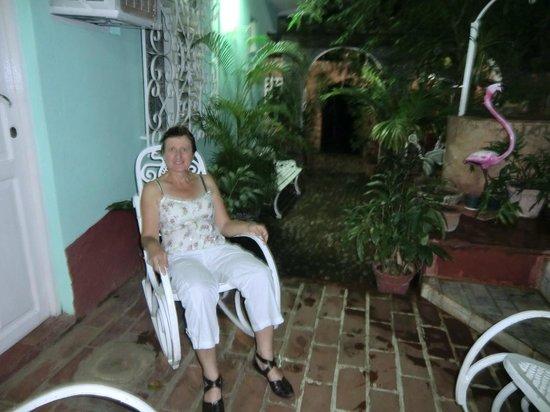 Hostal Oasis Trinidad Cuba : confort!