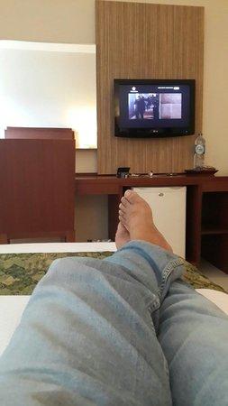 Aston Manado Hotel: @ Room 509. Mantap....