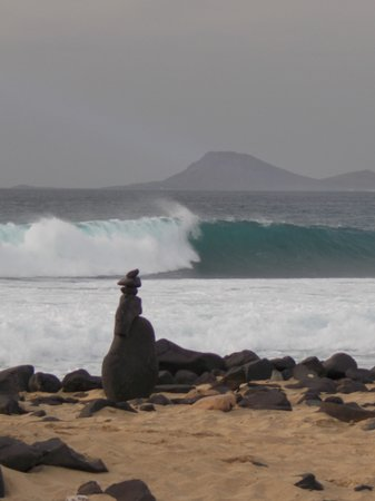 Melia Tortuga Beach Resort & Spa : paysage entre l'hotel et punta preta