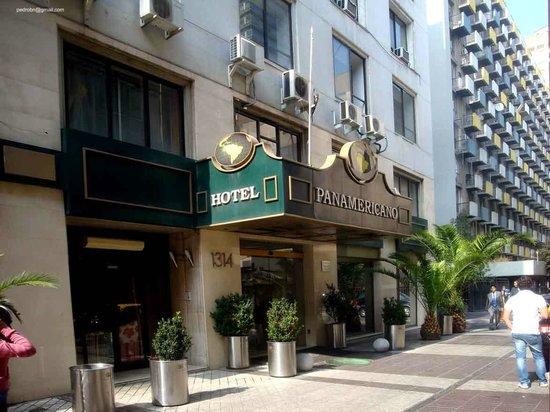 Hotel Panamericano : Fachada do Hotel