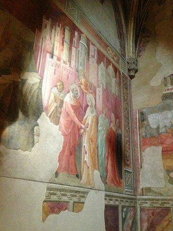 Artviva: The Original & Best Tours Italy: fresco in a church