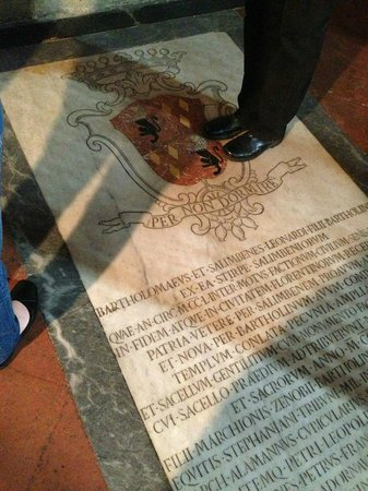 Artviva: The Original & Best Tours Italy: Wealthy family tomb in the church