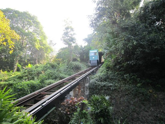Sea View Resort & Spa Koh Chang: funicular
