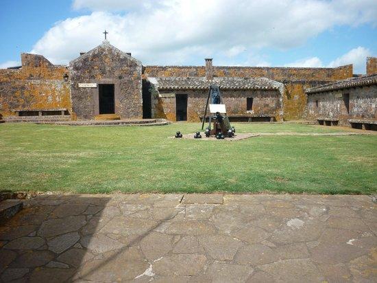 Chuy, Uruguay: Interior do Forte