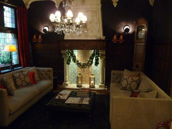 Hotel Prinsenhof Bruges : Lobby