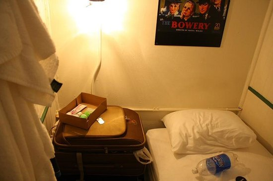 The Bowery House: Very small room. Like cubicle