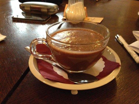 Choco Cafe U Cervene Zidle: To die for