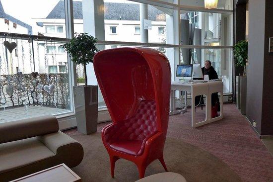 Novotel Brugge Centrum: Apple-Webcorner