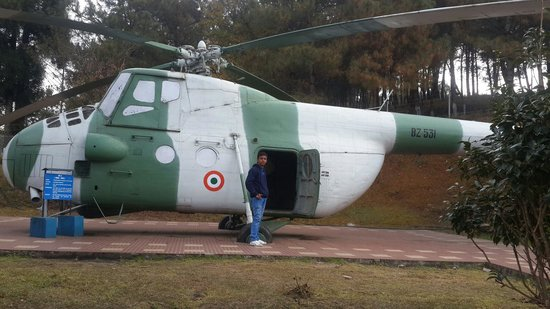 Air Force Museum: Heli with Jayanta