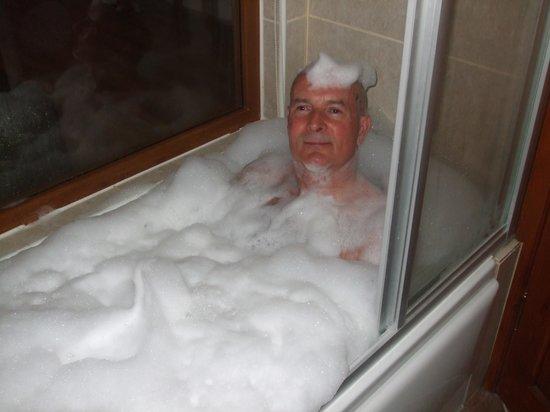 Hotel Greenland: Jaccuzi Foam Bath
