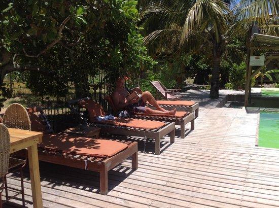 Mozambeat Motel: bij het zwembad