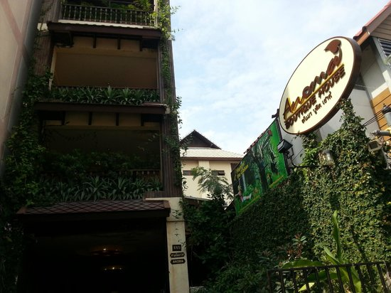 Anoma Boutique House: ingresso