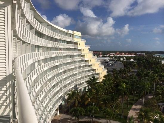 Grand Lucayan, Bahamas: View from 8th Floor Balcony