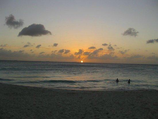 Tamarijn Aruba All Inclusive : Sunset from our room
