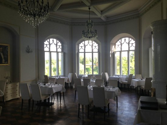 Hotel Schloss Gamehl: Dining area