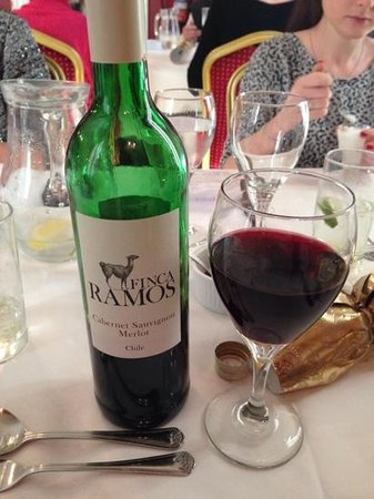 The Old Manor House: great wine