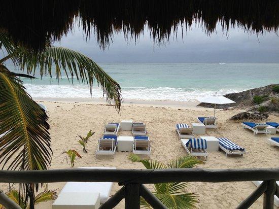 Posada Punta Piedra: View From Restaurant/Hotel