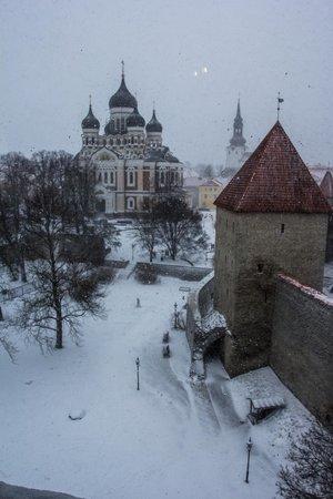 Кик-ин-де-Кёк: Вид на собор Александра Невского