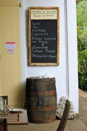 La Maison Creole Eureka: Snacks