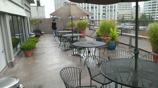 Inn at Virginia Mason: Rooftop Patio