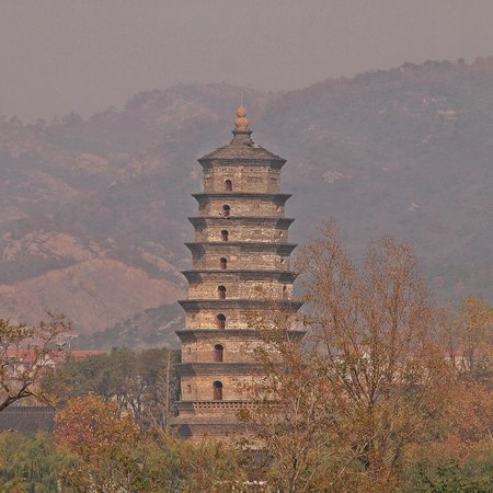 Hai Qing Temple and  A-yu King Tower