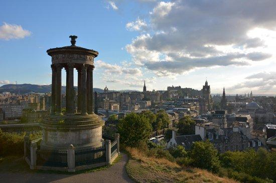 Apex Waterloo Place Hotel: View of Edinburgh from Calton Hill