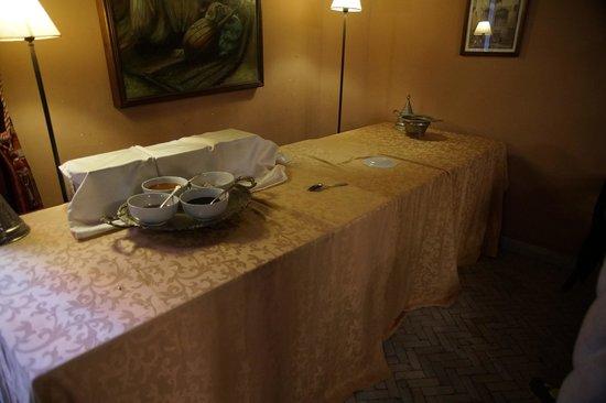 Palais Sebban : Il bouffet della prima colazione!