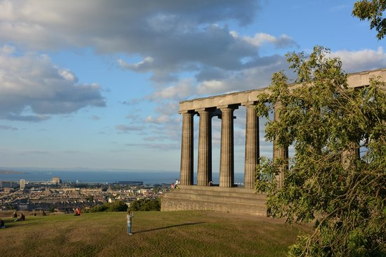 Apex Waterloo Place Hotel: Calton Hill views-amazing!