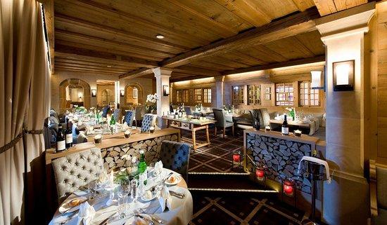 Golfhotel les Hauts de Gstaad : Restaurant Belle Epoque