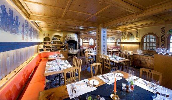Golfhotel les Hauts de Gstaad : Restaurant Bärengraben