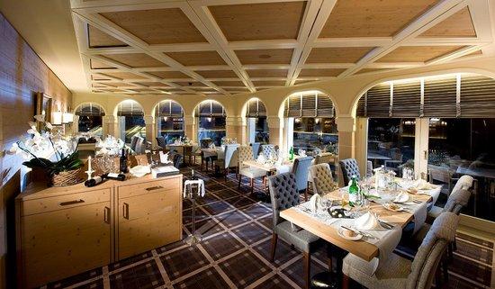 Golfhotel les Hauts de Gstaad : Restaurant Möserstube