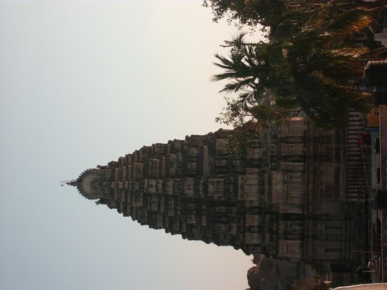 Gopi Guest House: main temple viiew