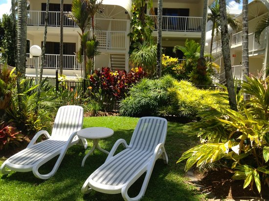 Melaleuca Resort: Photo of hotel patios