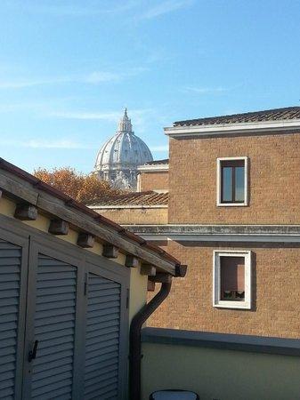 Vatican View : Vista desde la azotea