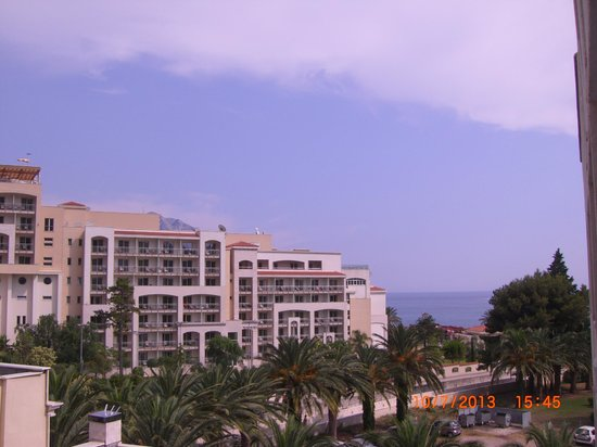 Mediteran Hotel & Resort: Дорожка из отеля к морю ведет вдоль канавы с лягушками