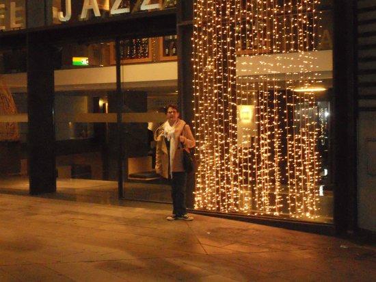 Hotel Jazz: entrée de l'hötel