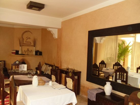 Riad Karmanda : Breakfast dining area