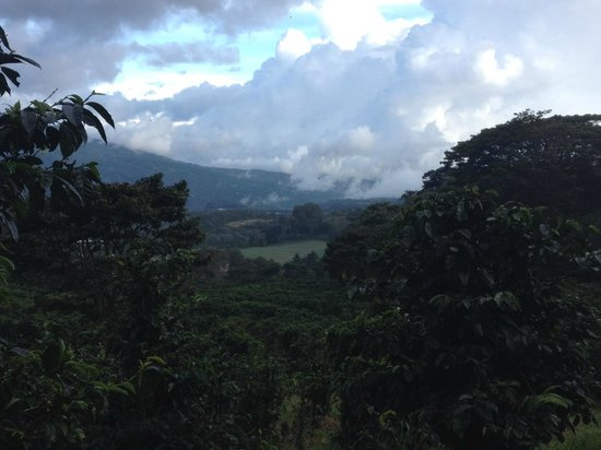 Finca Lerida : view from hiking trail