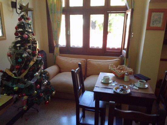 Hosteria Plaza: petit déjeuner de noël