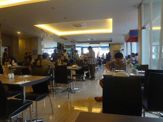 Hotel Dafam Fortuna Malioboro: Dining Room di lantai 1