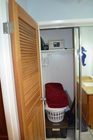Noelani Condominium Resort: the safe in the closet