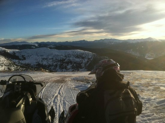 Colorado Backcountry Rentals: A beautiful day up on the pass