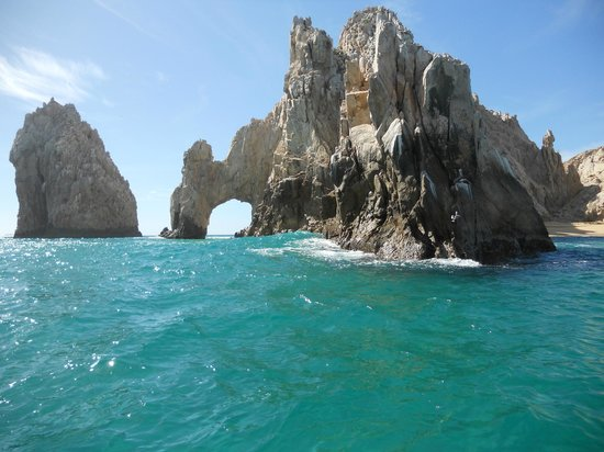 Sandos Finisterra Los Cabos: Attraction by resort. The arches.