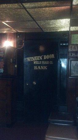 Swingin' Door Exchange: Vintage Wells Fargo vault