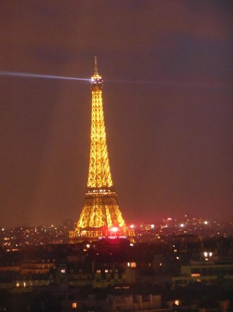 Hyatt Regency Paris Étoile: Vista lato sinistro con zoom