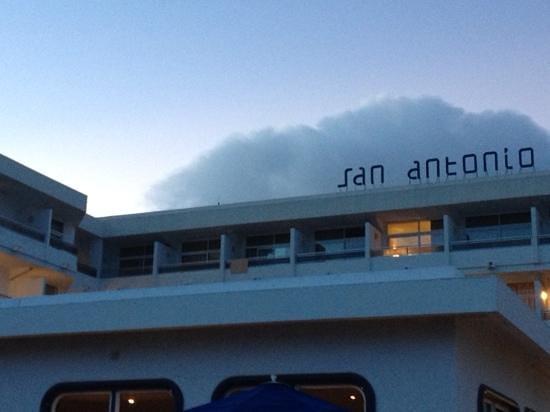 VIK Hotel San Antonio : Jnr Suite (4402) - top left corner