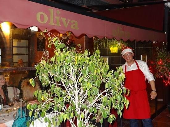 Father Christmas at Restaurante Oliva!