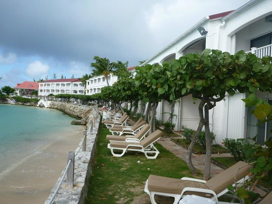 Grand Case Beach Club : Oceanfront